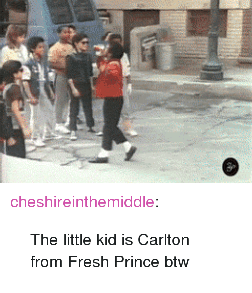 "Fresh Prince: <p><a href=""https://cheshireinthemiddle.tumblr.com/post/174487179457/the-little-kid-is-carlton-from-fresh-prince-btw"" class=""tumblr_blog"">cheshireinthemiddle</a>:</p>  <blockquote><p>The little kid is Carlton from Fresh Prince btw</p></blockquote>"