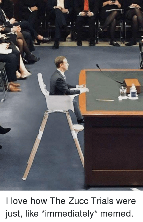 Love, How, and Like: <p>I love how The Zucc Trials were just, like *immediately* memed.</p>