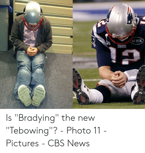 """Bradying Meme: МнК  ДINS  Тe Is """"Bradying"""" the new """"Tebowing""""? - Photo 11 - Pictures - CBS News"""