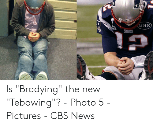 """Bradying Meme: мнк  риtк Is """"Bradying"""" the new """"Tebowing""""? - Photo 5 - Pictures - CBS News"""