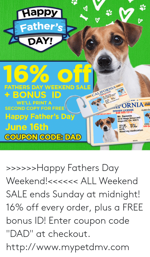 fathers day weekend - 500×857