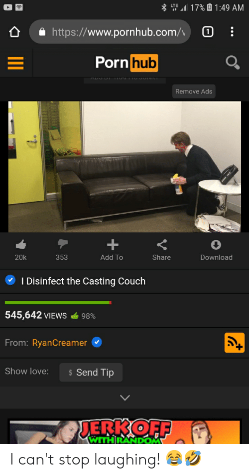 Casting Couch Anal Squirt
