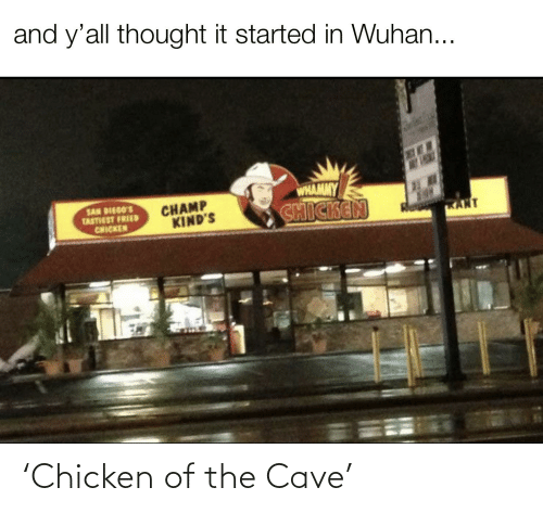 the cave: 'Chicken of the Cave'