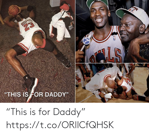 """daddy: """"This is for Daddy"""" https://t.co/ORllCfQHSK"""
