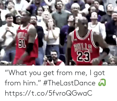 "i got: ""What you get from me, I got from him.""   #TheLastDance 🐍  https://t.co/5fvroQGwaC"