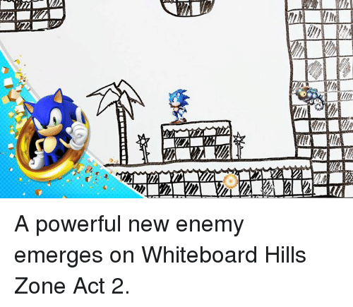Emergent: 血.7MV2NZ  血2  SIES A powerful new enemy emerges on Whiteboard Hills Zone Act 2.