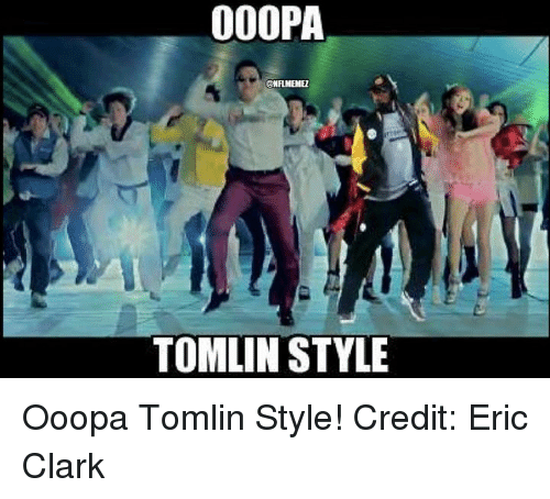 Nfl, Clarks, and Style: 000PA  @NFLMEMEZ  TOMLIN STYLE Ooopa Tomlin Style! Credit: Eric Clark