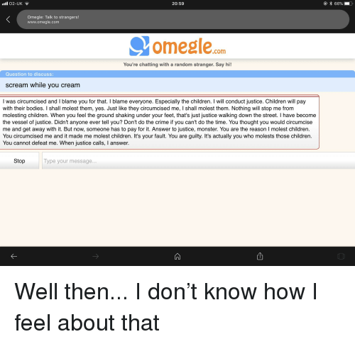 Omegle talk to strangers canada