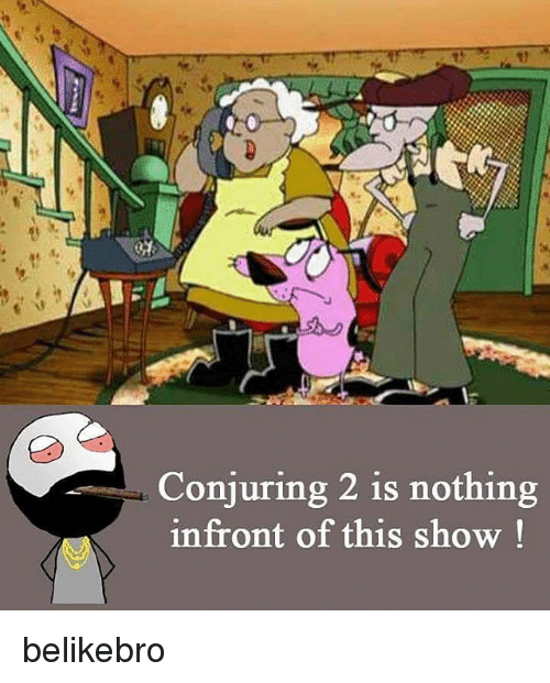 Conjuring 2: 1)  Conjuring 2 is nothing  infront of this show belikebro