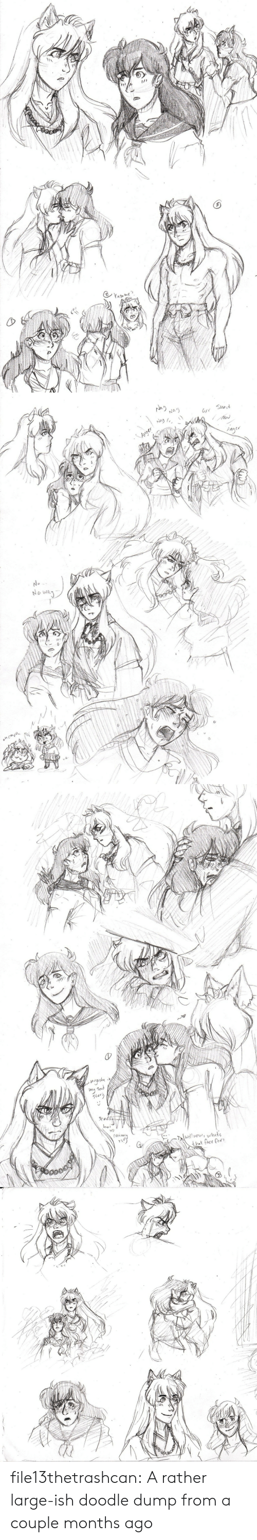 Target, Tumblr, and Blog: 1/)  me   Na2  Na'y  Nay  Mod  Auger  Anger  No  No  encm   mysad  5tory  boi  what's  wellwow  hat face for file13thetrashcan:  A rather large-ish doodle dump from a couple months ago
