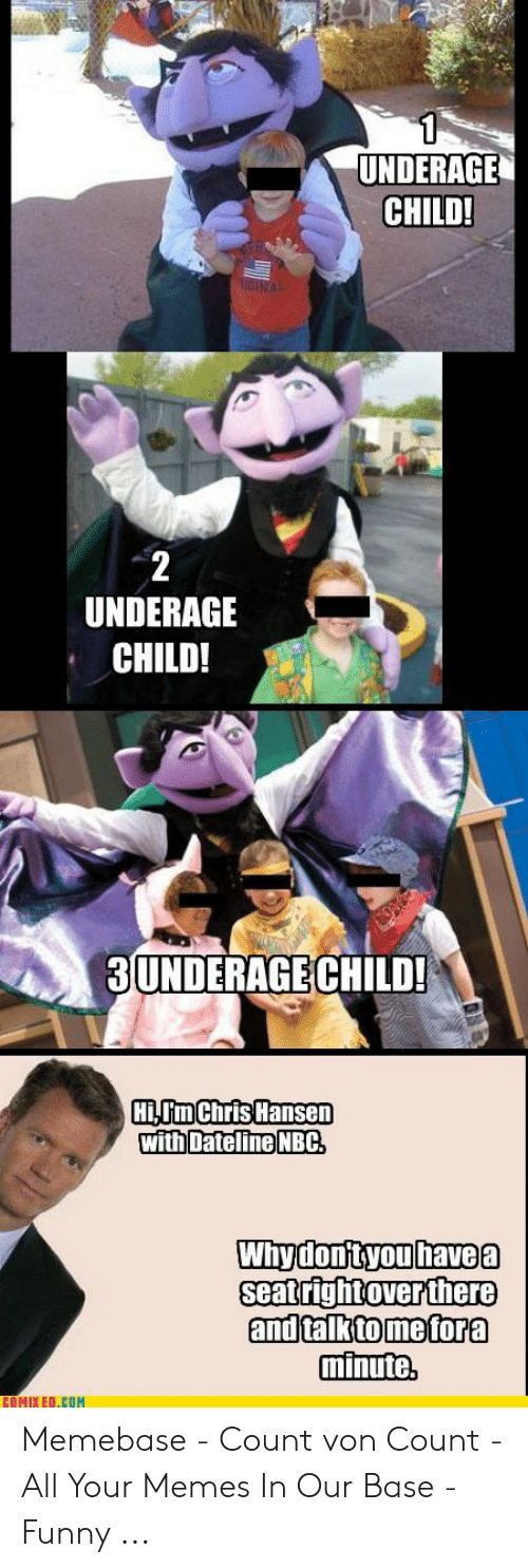 25 Best Memes About The Count Sesame Street The