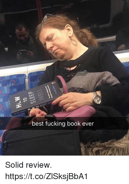 Fucking, Funny, and Best: 10  best fucking book ever Solid review. https://t.co/ZlSksjBbA1