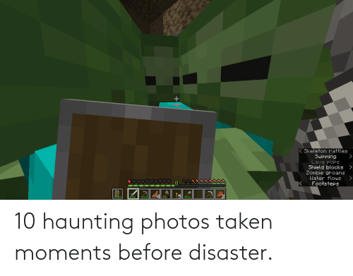 Haunting: 10 haunting photos taken moments before disaster.
