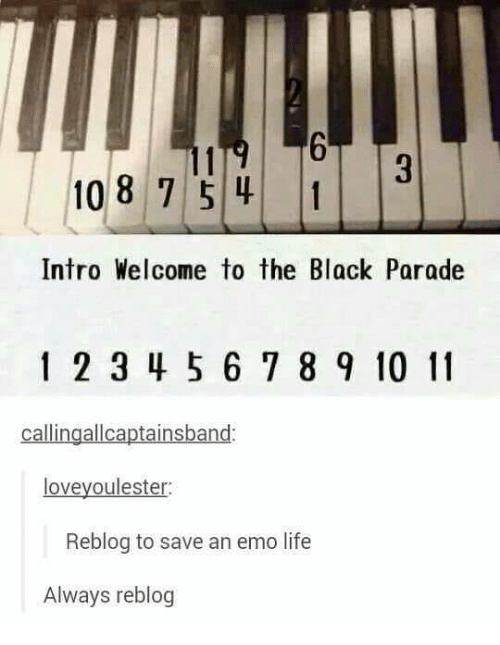 25 Best Memes About My Chemical Romance Welcome To The Black