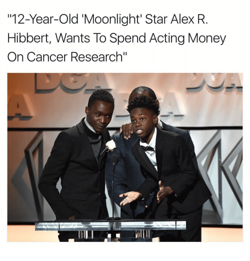 Memes, Moonlight, and 🤖: 112-Year-Old Moonlight Star Alex R  Hibbert, Wants To Spend Acting Money  On Cancer Research