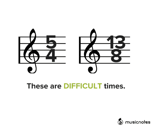Lost, Times, and Musicnotes: 13  These are DIFFICULT times.  musicnotes  LOST
