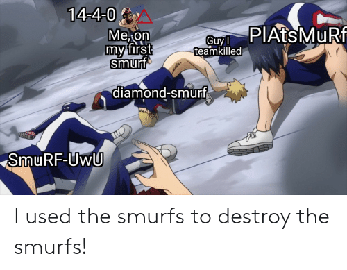 🅱 25+ Best Memes About Smurf | Smurf Memes