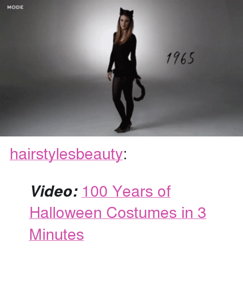 "Halloween Costumes: 1765 <p><a href=""http://hairstylesbeauty.com/post/131350319182/video-100-years-of-halloween-costumes-in-3"" class=""tumblr_blog"">hairstylesbeauty</a>:</p><blockquote><p><b><i>Video:</i></b> <a href=""http://goo.gl/W2B1ao"">100 Years of Halloween Costumes in 3 Minutes</a><i><b><a href=""http://www.iknowhair.com/100-years-of-halloween-costumes-in-3-minutes/""><br/></a></b></i>  <br/></p></blockquote>"