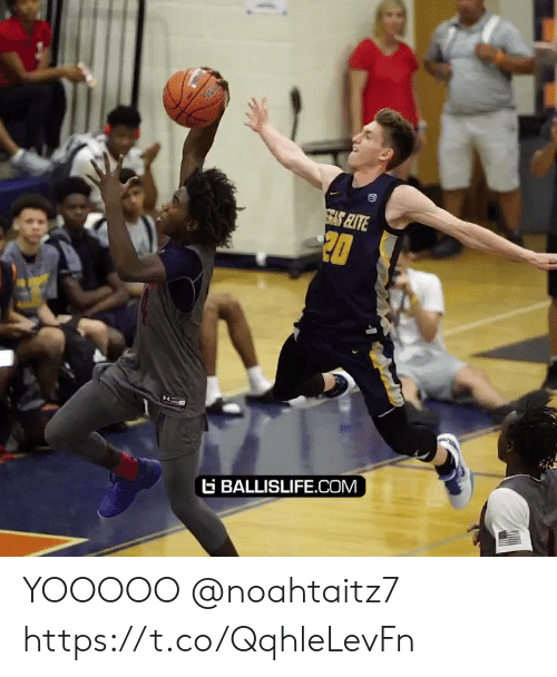 Basketball: 20  G BALLISLIFE.COM  H YOOOOO @noahtaitz7 https://t.co/QqhleLevFn