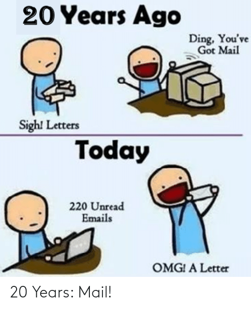 Mail: 20 Years: Mail!