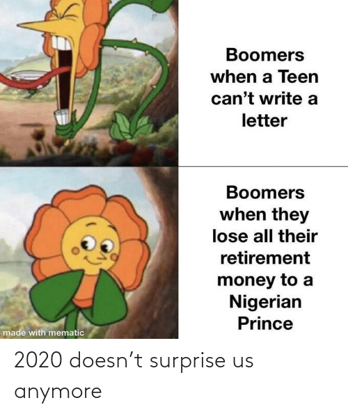 anymore: 2020 doesn't surprise us anymore
