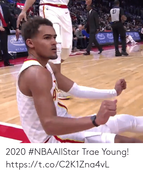 Young: 2020 #NBAAllStar Trae Young!  https://t.co/C2K1Zna4vL
