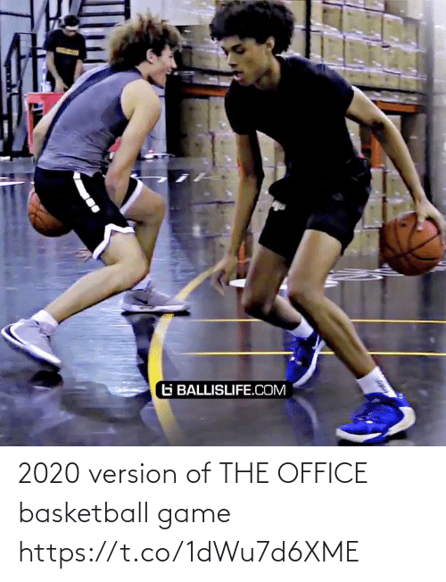 The Office: 2020 version of THE OFFICE basketball game    https://t.co/1dWu7d6XME