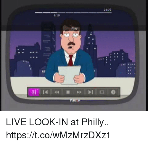 Football, Nfl, and Sports: 21:22  6:10  Play  1 LIVE LOOK-IN at Philly.. https://t.co/wMzMrzDXz1