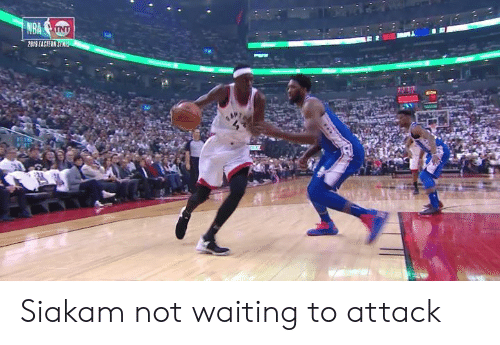 Eastern: 2819 EASTERN Siakam not waiting to attack