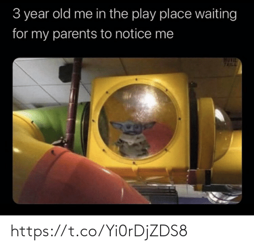 Waiting For: 3 year old me in the play place waiting  for my parents to notice me  TAILL https://t.co/Yi0rDjZDS8
