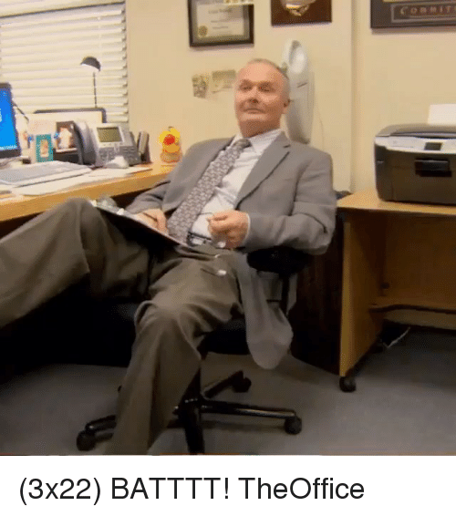 Memes, 🤖, and Theoffice: (3x22) BATTTT! TheOffice