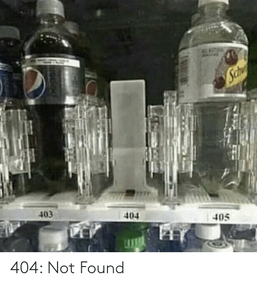 Not: 404: Not Found