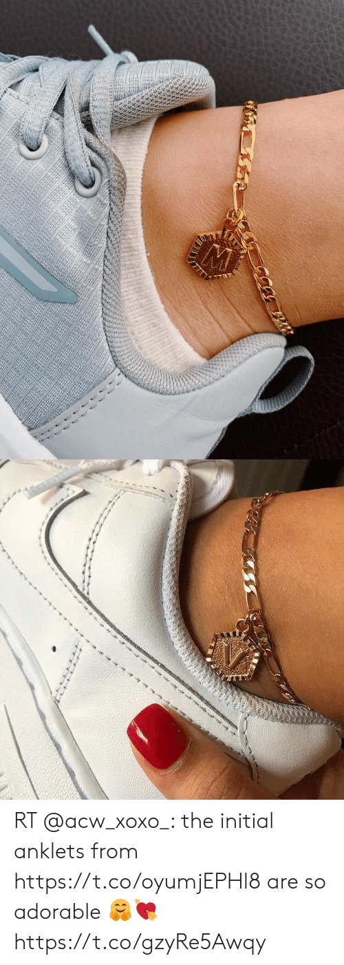 Memes, Adorable, and 🤖: 4814 RT @acw_xoxo_: the initial anklets from https://t.co/oyumjEPHl8 are so adorable 🤗💘 https://t.co/gzyRe5Awqy