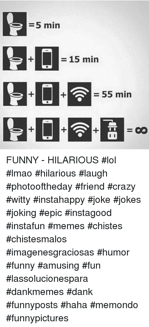 Crazy, Dank, and Funny: 5 min  - 15 min  55 min FUNNY - HILARIOUS  #lol #lmao #hilarious #laugh #photooftheday #friend #crazy #witty #instahappy #joke #jokes #joking #epic #instagood #instafun  #memes #chistes #chistesmalos #imagenesgraciosas #humor #funny  #amusing #fun #lassolucionespara #dankmemes  #dank  #funnyposts #haha #memondo #funnypictures