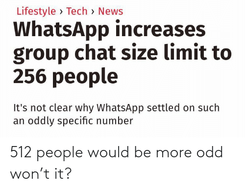 people: 512 people would be more odd won't it?