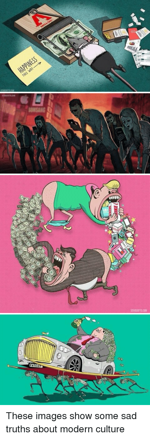 wpp: 51HL  SS3MddVH  wpP   ) 3M   CERT  다3 These images show some sad truths about modern culture