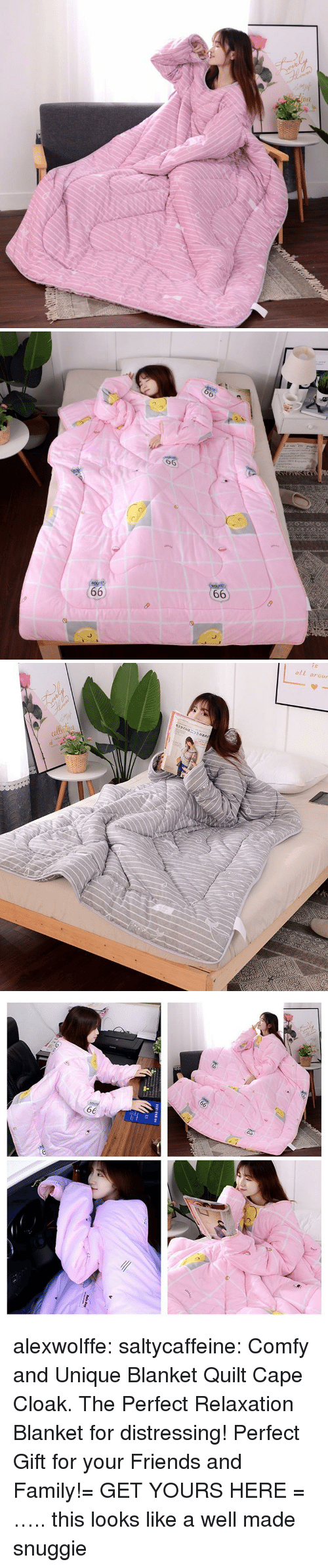 relaxation: 6  6   oll arour alexwolffe:  saltycaffeine:  Comfy and Unique Blanket Quilt Cape Cloak. The Perfect Relaxation Blanket for distressing! Perfect Gift for your Friends and Family!= GET YOURS HERE =  ….. this looks like a well made snuggie