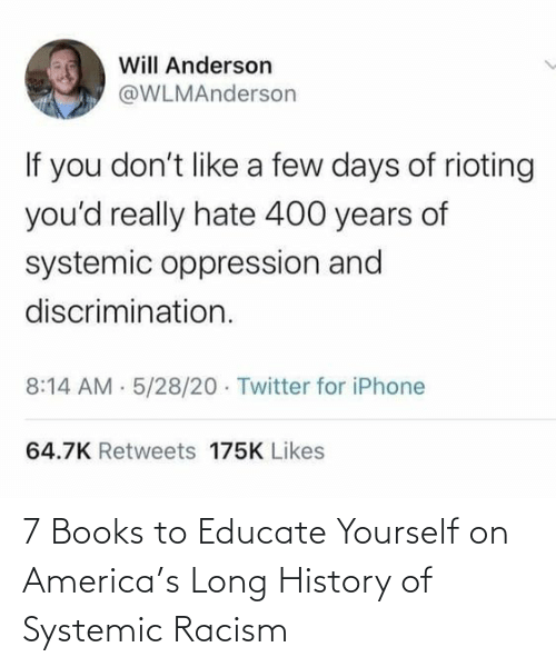 Long: 7 Books to Educate Yourself on America's Long History of Systemic Racism