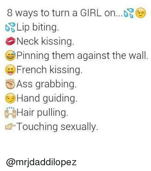 How to sexually turn on a girl by text