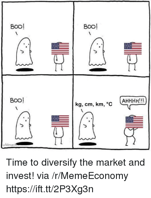 Time, Invest, and Via: 800!  B0O!  B0o!  kg, cm, km, c AHHHH!!  u/Mmari Time to diversify the market and invest! via /r/MemeEconomy https://ift.tt/2P3Xg3n