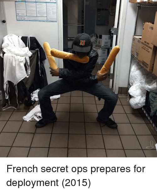 Deployment: 9978  ITS THELAW French secret ops prepares for deployment (2015)