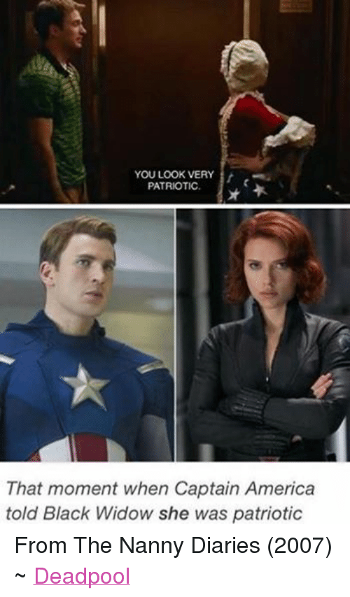 You Look Very Patriotic That Moment When Captain America