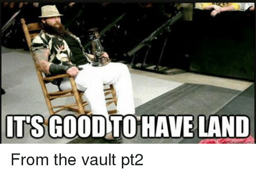 the vault: ITS GOOD  HAVELAND From the vault pt2