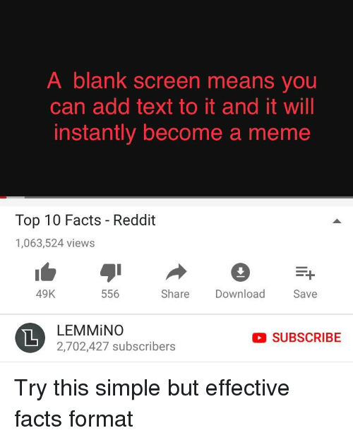 A Blank Screen Means You Can Add Text to It and It Will Instantly