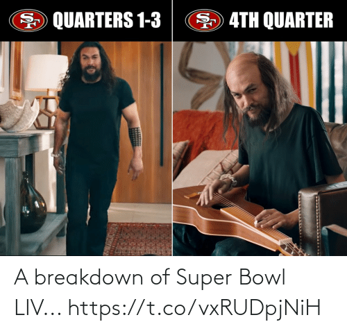 super: A breakdown of Super Bowl LIV... https://t.co/vxRUDpjNiH