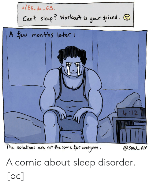 Sleep: A comic about sleep disorder. [oc]