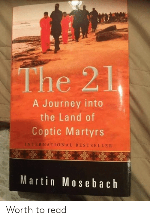 Dank, Journey, and Martin: A Journey into  the Land of  Coptic Martyrs  INTERNATIONAL BESTSELLER  Martin Mos e b ach Worth to read