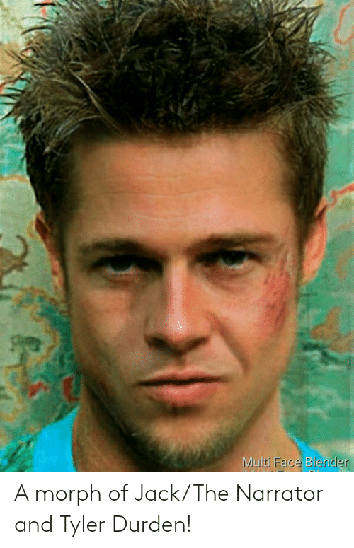 jack: A morph of Jack/The Narrator and Tyler Durden!