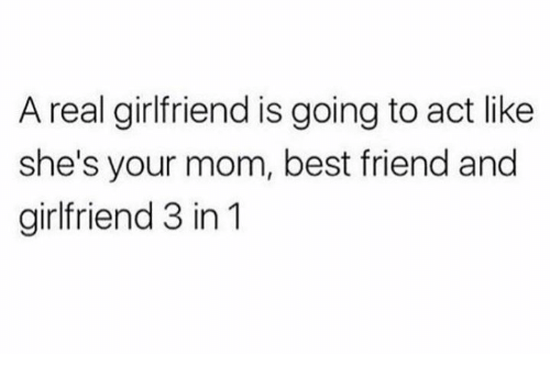 a real girlfriend
