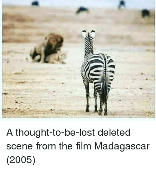 madagascar: A thought-to-be-lost deleted scene from the film Madagascar (2005)